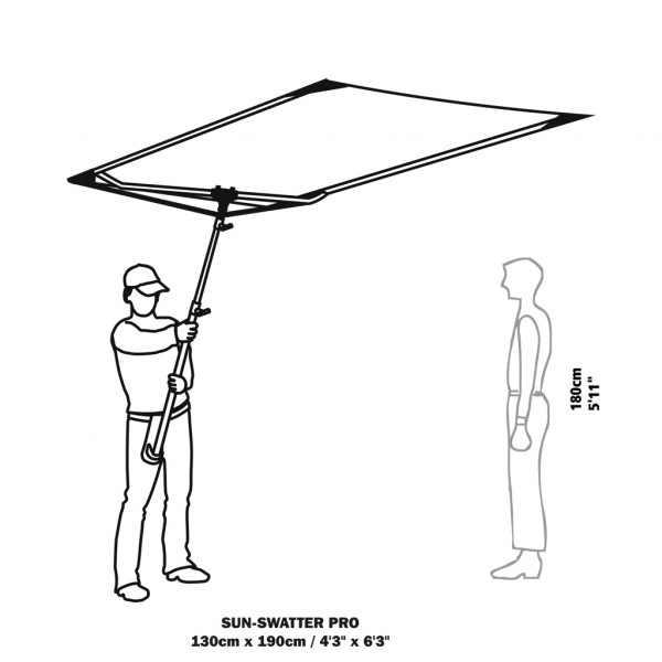 Sun-Swatter Pro ohne Bespannung