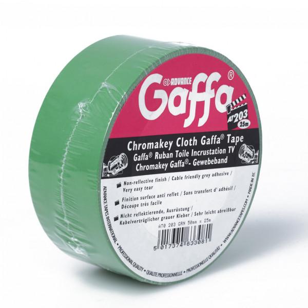 Gaffa Tape ADVANCE Chromakey AT203 grün