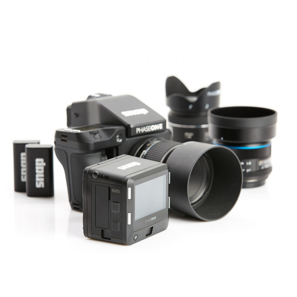 PhaseOne XF + IQ250 Camera System - Set mit 3 Optiken