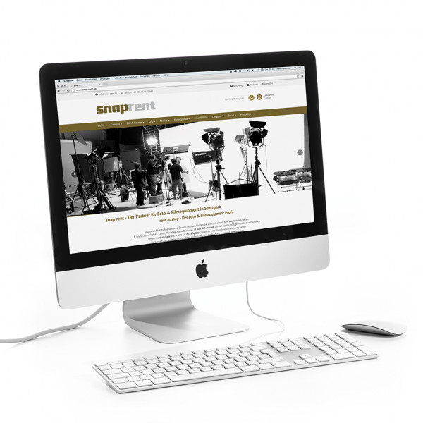 "iMac 21,5"" mit 2,7 GHz Quad-Core Intel Core i5"